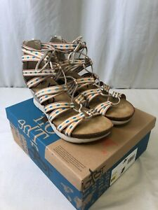 OTBT Women's Way Out Strappy Sandals Mid Taupe Size 10