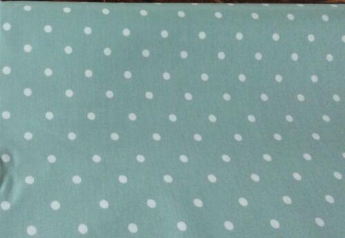 Duck Egg  Spot Design Oilcloth fabric PVC coated