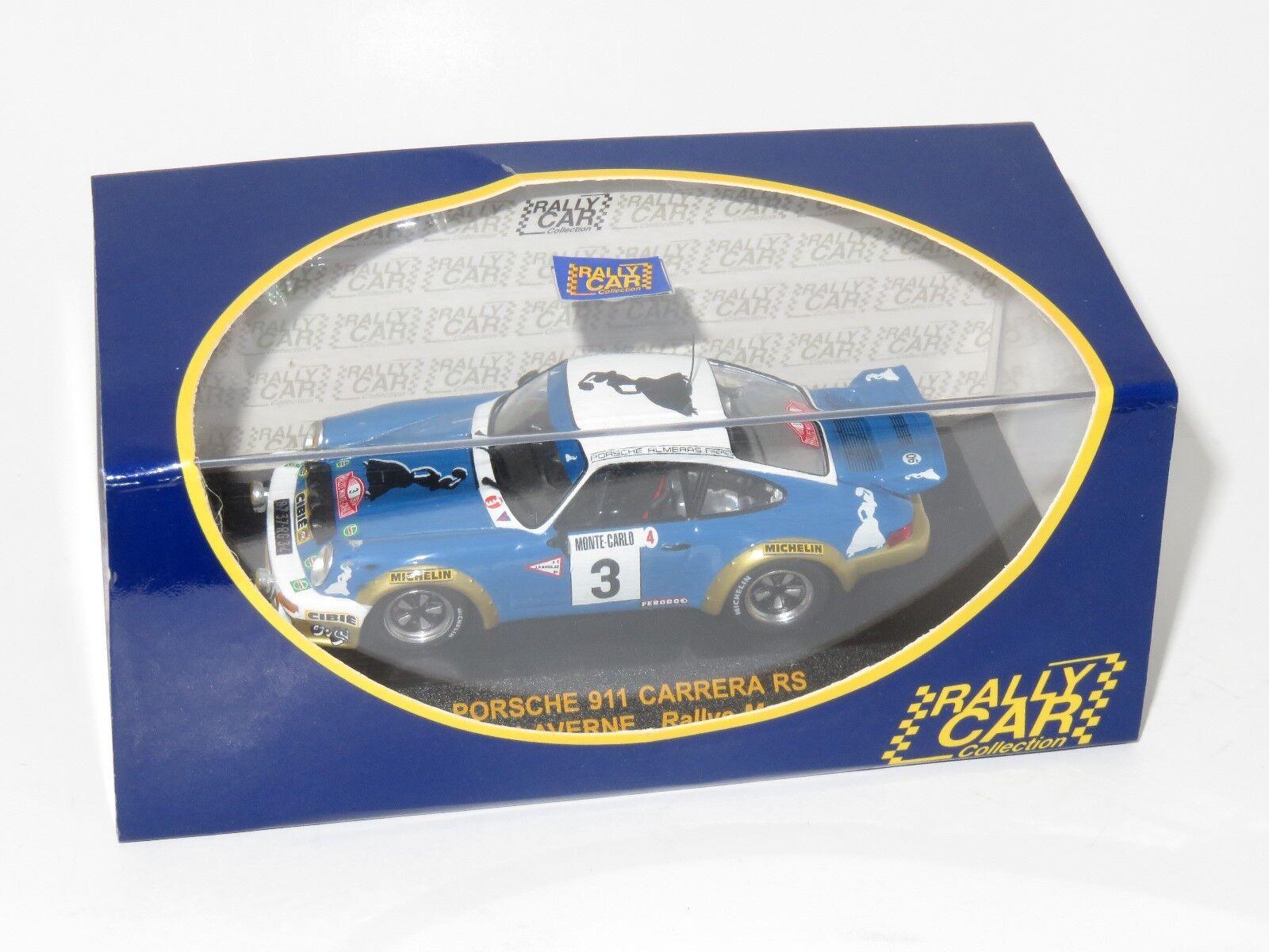 1 43 Porsche 911  Gitanes Winner Monte Carlo Rally 1978 J.P Nicolas