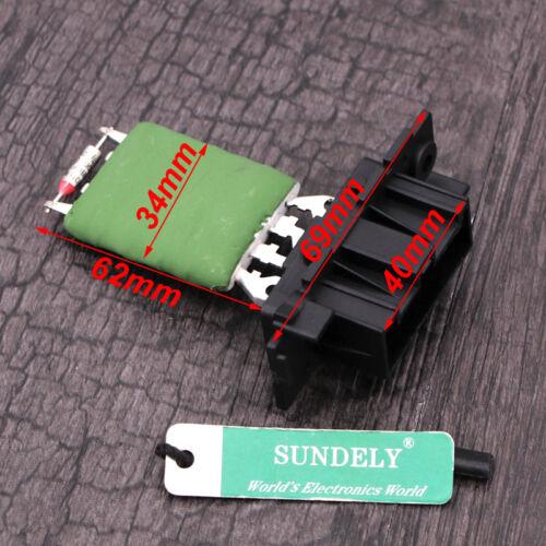 HI-Q UK STOCK FAST Heater Blower Motor Fan Resistor For Fiat Punto Fiorino