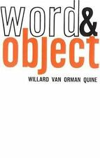 Word and Object (Studies in Communication) by Willard Van Orman Quine