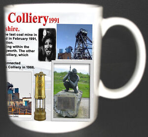 BAGWORTH-COLLIERY-COAL-MINE-MUG-LIMITED-EDITION-GIFT-MINERS-LEICESTERSHIRE-PIT
