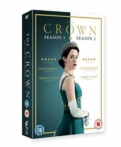 The Crown - Complete Season 1 and 2 [DVD] [2018] New Sealed UK Region 2