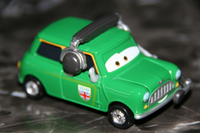 Disney Pixar Cars 2 Austin Littleton Nigel Gearsley S Crew Chief