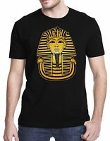 Tutankhamon King Tut Egyptian Black T-Shirt Tshirt Shirt Tee