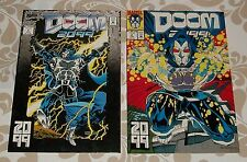 Doom 2099 #1 and 2 a lot of 2 comics in near mint and better shape, free shipp