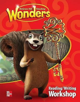 Reading Wonders Reading/Writing Workshop Grade 1, Paperback by McGraw-Hill NEW