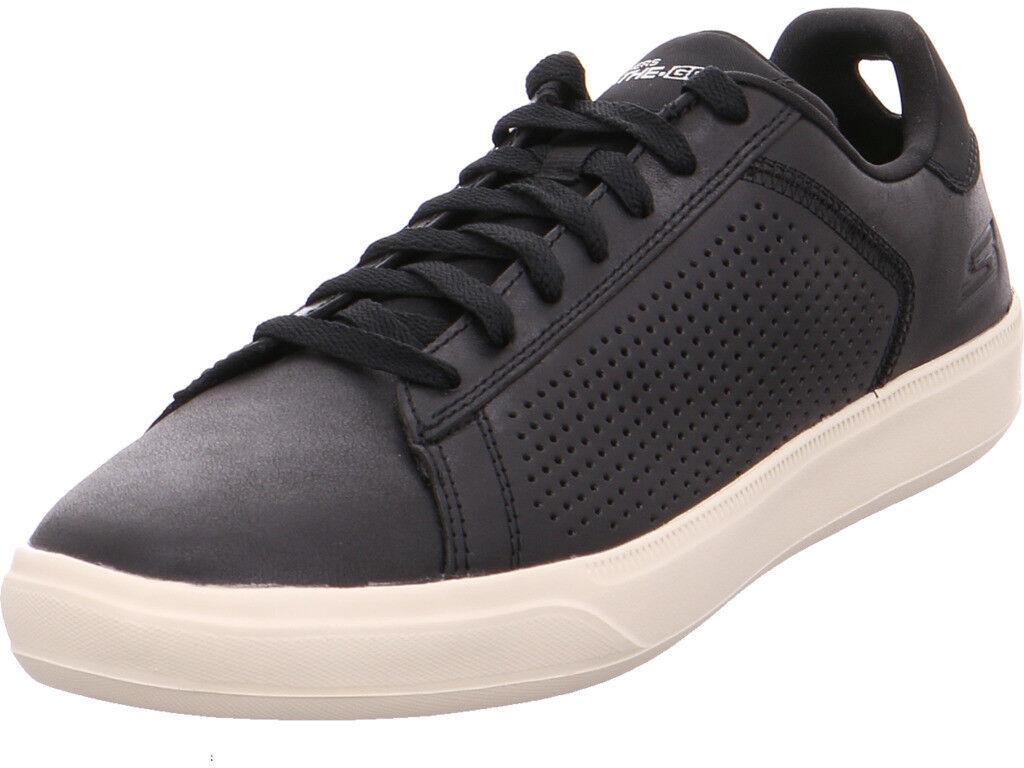 Skechers señores semi zapato negro