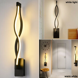 Modern Wall Lights Lamp Sconces Indoor Bedroom Bedside Living Room Porch Light