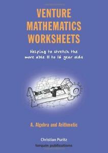 Venture-Mathematics-Worksheets-Algebra-and-Arithmetic-Bk-A-by-Christian-Puritz