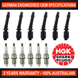 6x-Genuine-NGK-Iridium-Spark-Plugs-amp-6x-Ignition-Coils-for-Ford-Falcon-BA-XR6