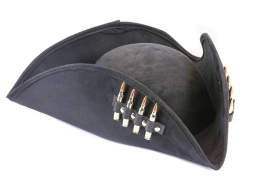 Pirate Hat Captain Jack Sparrow Black .223 Nickel Shell Copper Tip M16 Pyrate
