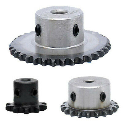 #25-20T; Bore:6mm #25 Chain Drive Sprocket Wheel 20T Bore 6mm Pitch 1//4 6.35mm For 04C Roller Chain