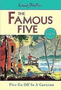 The-Famous-Five-Five-go-of-in-a-Caravan-5-Enid-Blyton-Very-Good-Book