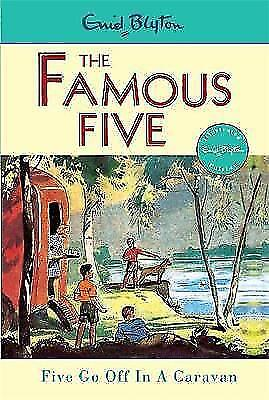 Five Go Off in a Caravan (Famous Five) by Enid Blyton, Good Used Book (Paperback