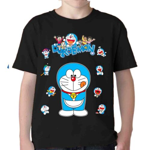 DORAEMON t shirt gatto spaziale tshirt Nobita Guglia cartoni boing manga anni 80