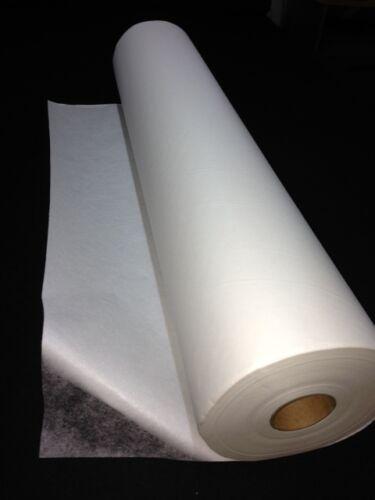 Voile collant avec papier large 75 cm double face appliqué collé au 0.50 mètres