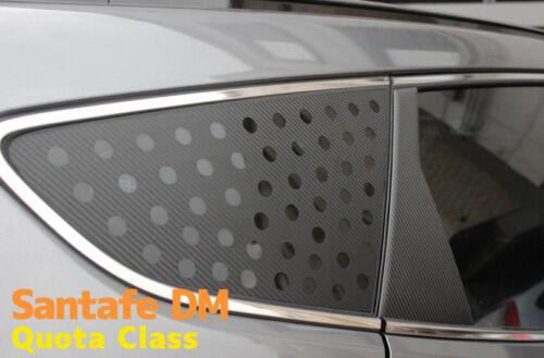 Decal-X Carbon Quota Glass Mask 2P 1Set For Santa fe DM 2013 2015
