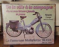 Plaque Metal mobylette 2822 Cm
