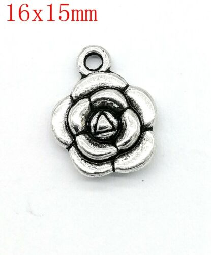 100 different styles of charm pendants vintage silver amulet for DHY necklaces