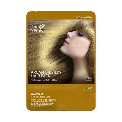 [THE YEON] Argan Oil Silky Hair Pack 20ml*1ea / For severely damaged hair