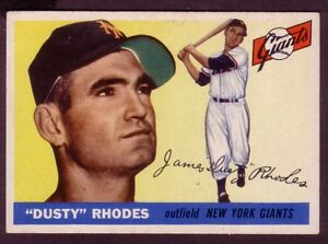 1955-TOPPS-DUSTY-RHODES-CARD-NO-1-EXMINT-CONDITION