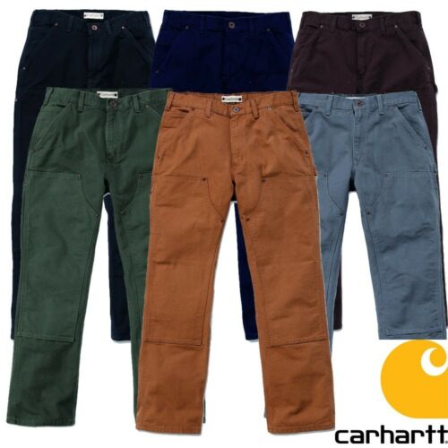 Carhartt Pants Double Front Work Pant Trousers Men Men New