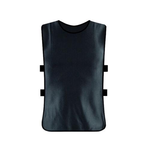 DI Kids//Adult Team Sports Football Soccer Training Vest Train Jerseys Bib Unifo