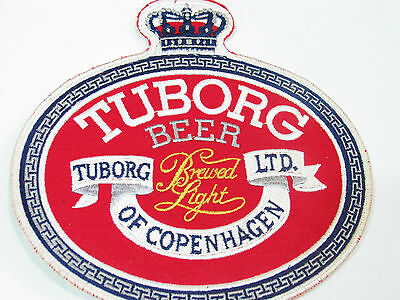 Fein Tuborg Beer Toborg Ltd Von Kopenhagen Bier Xl Jacke Aufnäher Reinigen Der MundhöHle. Lg Bin