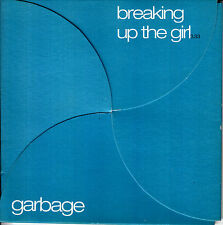 GARBAGE Breaking Up the Girl 2001 UK 2-track promo CD+video fold out TRASH44