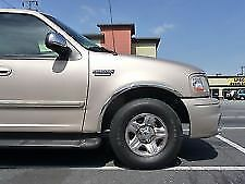 03-06 Expedition XLT Stainless Fender Trim