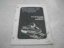 Arctic Cat 1978 Cheetah Snowmobile Illustrated Parts Manual