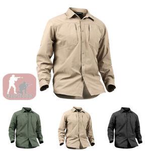 Mens-Army-Outdoor-Tactical-Shirt-Combat-Long-Sleeve-Military-Casual-Shirt-Hiking