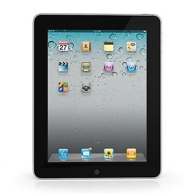 Apple iPad 1st Gen FULLY FUNCTIONAL 16GB WiFi Black (MB292LL/A) Fair Condition