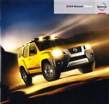 2009 09 Nissan Xterra original sales brochure Mint