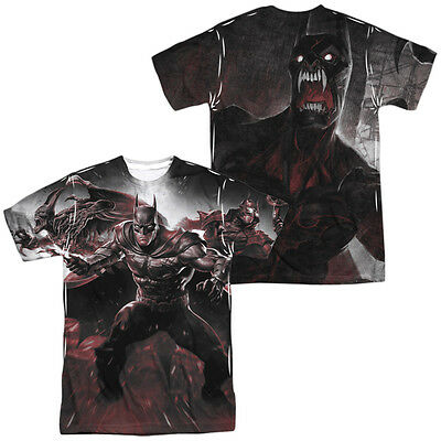 The Flash LIGHTNING LOGO 2-Sided Sublimated All Over Print Poly T-Shirt
