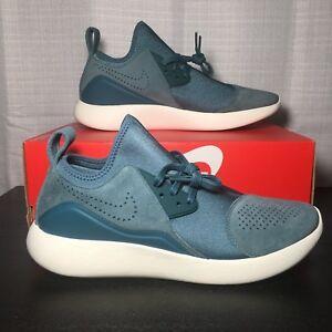 Nike LunarCharge Premium Shoes 923281-331 Turqoise Mens Size10 New Retro