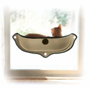 Image Is Loading Cat Window Bed Removable Sunbathing Lounge Mounted Hammock