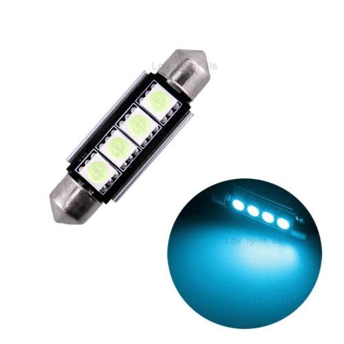 11x Ice Blue Error Free LED Interior Lights Package kit Fit BMW 7 Series E38 J1