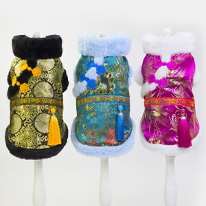 Chinese-Cheongsam-Style-Dog-Cat-Clothes-Tang-Coat-Costume-For-Pet-Dog-Puppy-Vest