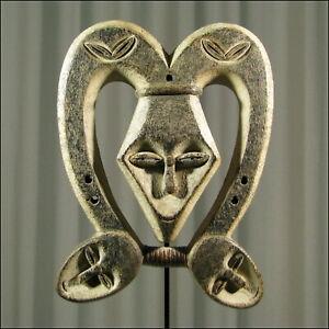29652-Afrikanische-Kwele-Holz-Maske-Gabun-Afrika-KUNST
