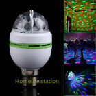 2x 6x B22 RGB LED Light Bulb Auto Rotating Stage KTV Party Magic Lamp DJ Disco