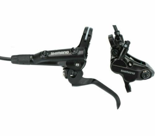 ShimanoFront Hydraulic Disc Brake: Left BL-MT501 BR-MT520 Black 1000mm Hose