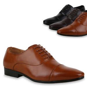 63228168641b30 Das Bild wird geladen Herren-Business-Schuhe-Klassische-Schnuerer-Abiball- Halbschuhe-825321-