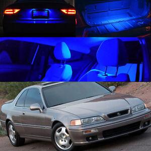 for 90 95 acura honda legend blue interior xenon light bulb led rh ebay com 1995 Acura Legend 1998 Acura Legend