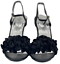 miniatura 28 - Zapatos de fiesta señoras para mujer Sandalias De Boda Nupcial Diamante Tacón de noche de calzado