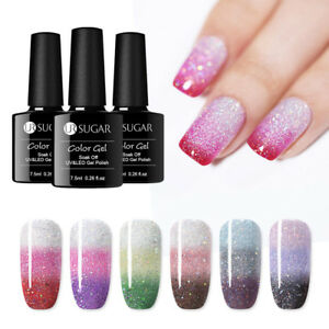 UR-SUGAR-7-5ml-Thermal-Color-Changing-UV-Gel-Polish-Soak-Off-Nail-Art-Varnish