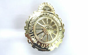 Royal-Enfield-Emblem-Nr-13-Messing-massiv-Club-Argentinot-Durchmesser-75mm