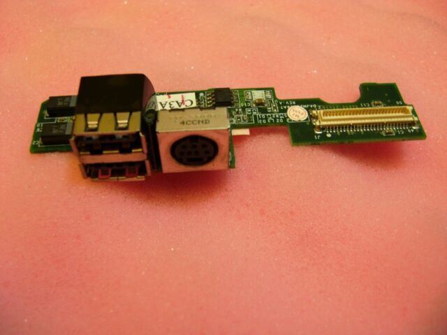 Dell Latitude D610 Laptop USB S-Video Board Module