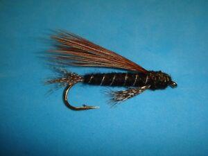 6 pcs Zonker Marabou Woolly Bugger Streamers Fly Salmon Trout Fly Fishing Flies